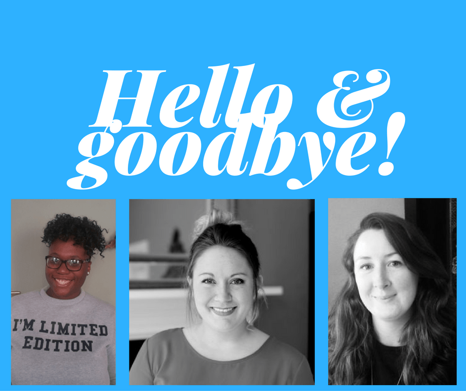 Welcome aboard to our new staff members!